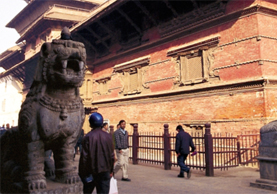Lions of Basantapur & Their Master