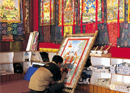 Tushita Heaven: Advancing Thangka Artists and Art