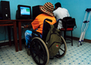 A Cyber Cafe for the Blind: The National Rehabilitation Society for the Disabled