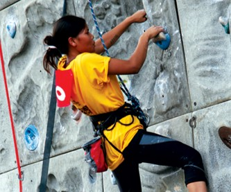 Reaching Their Peaks: 4th National Open Climbing Competition