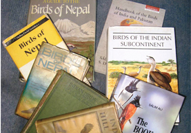 Books for Birding in Nepal