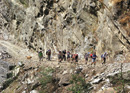 Trekking the Marsyangdi River Gorge
