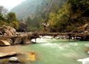 Biking the Great Himlayan Trail