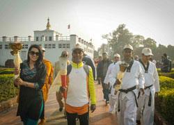 Lumbini Peace March