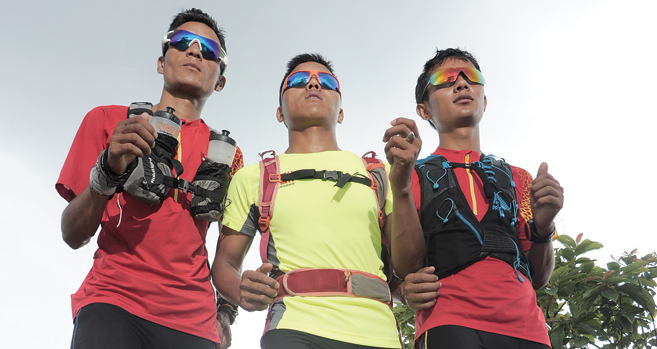 The unstoppable ultra - runners