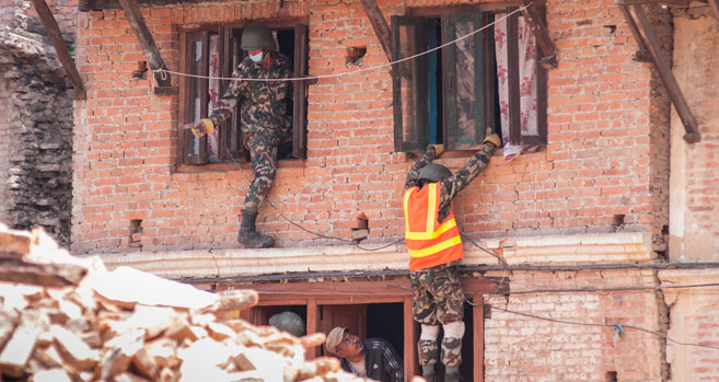 'Nepal Will Rise': Writing Positive in the Wake of the Quake