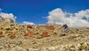 Jomsom to Muktinath Mountain Biking Escapade