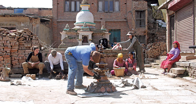 Revival of a Devastated 16th Century Town