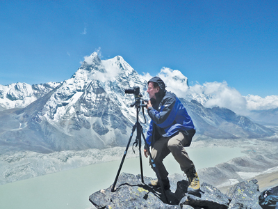 The Changing Glaciers  of the Everest Region