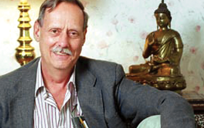 Portrait of a Writer: Nick Cibrario and The Garden of Kathmandu