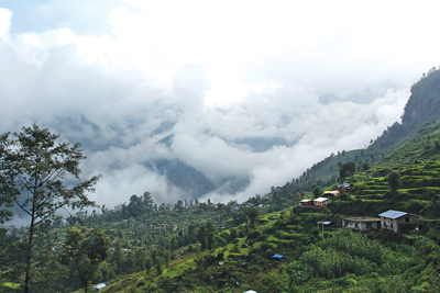 Mountainous Sindhupalchok