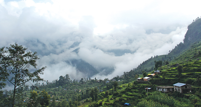 Mountainous Sindhupalchok