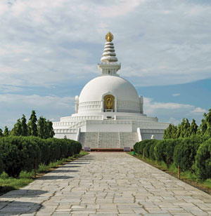 A Birth of Light, Lumbini Shines in the World