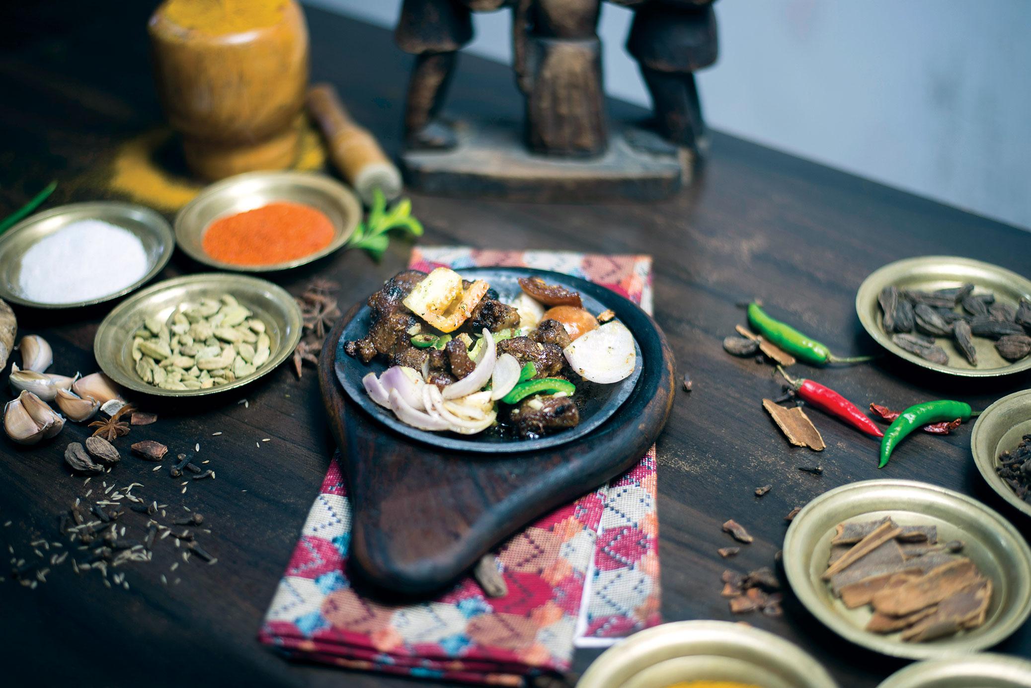Delectable BBQ Nepali Style at Bajeko Sekuwa