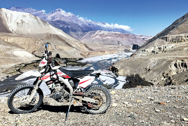 Explore Nepal through Off-Road Biking