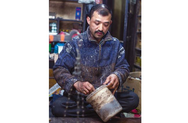 Nepali Medicine Man