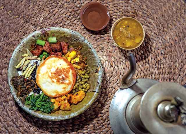 The Culinary Tour,  Tasting Nepal the Local Way