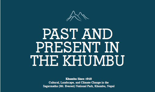 Past and Present in the Khumbu