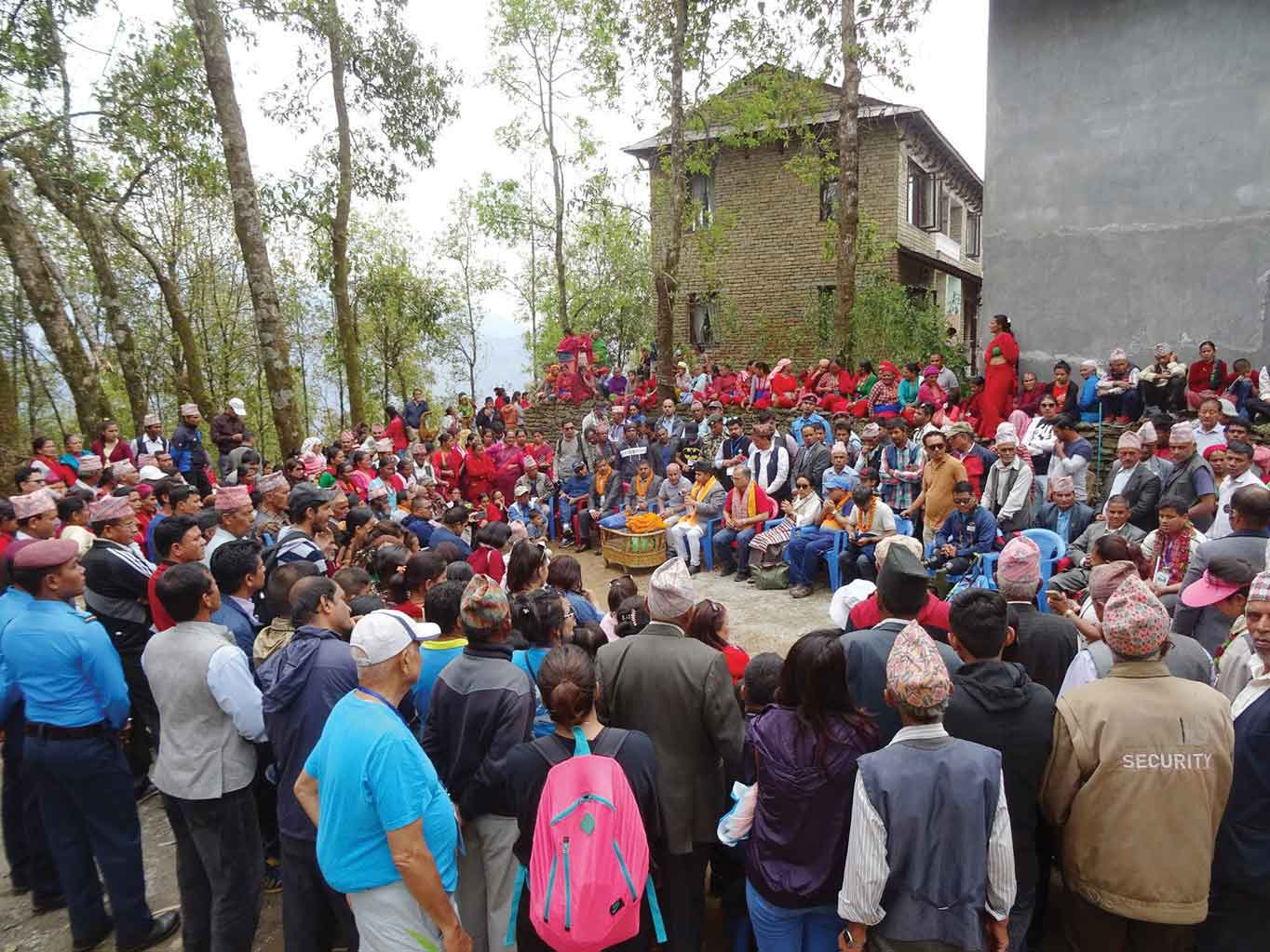 First Accessible Trekking Trail in Asia Opens in Kaski