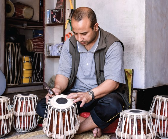 Adding Rhythm to Nepal's Traditional Music