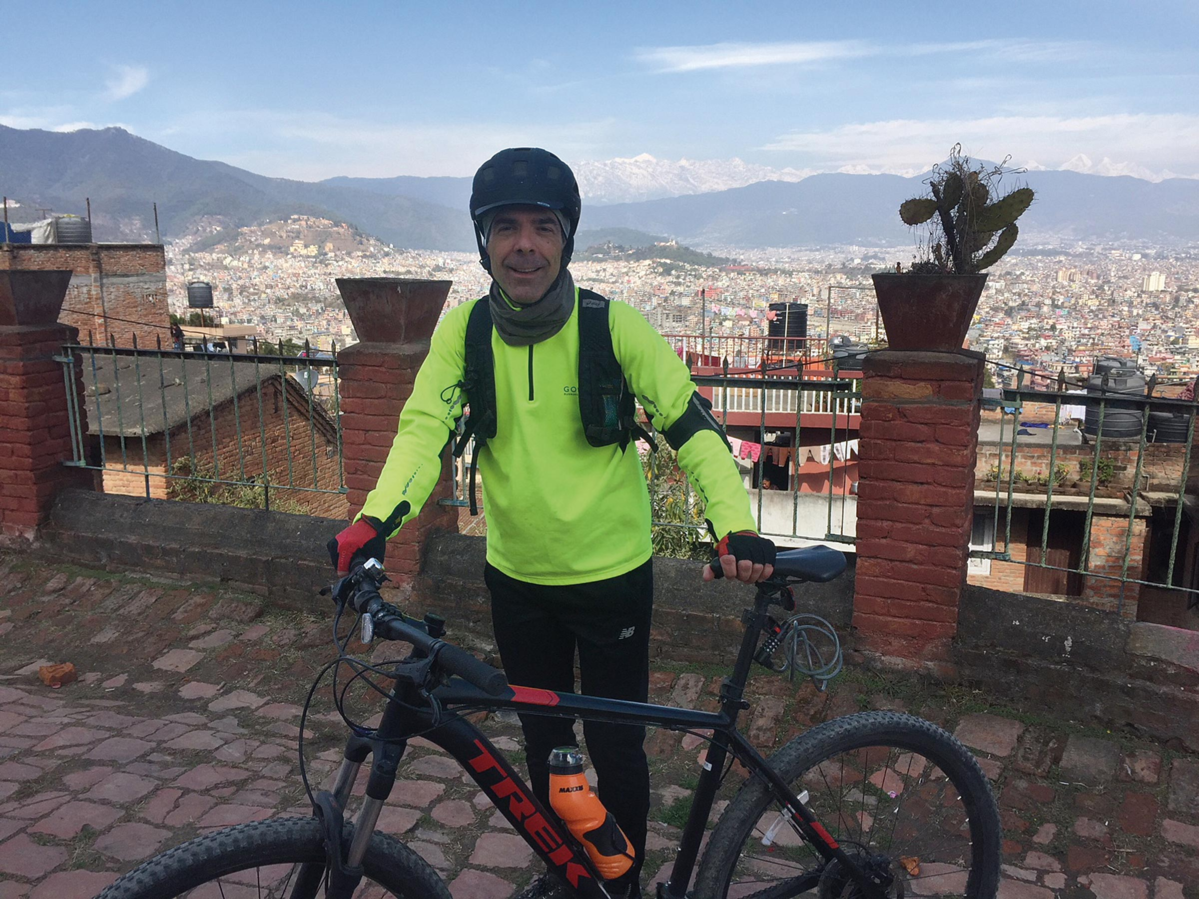 Food, France, and Nepal: Getting to know the Cycling Ambassador