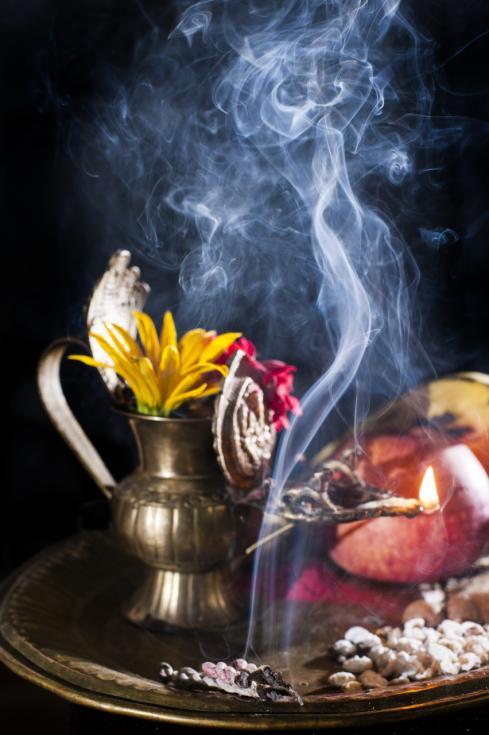 Healing Aromas - A Photo Story