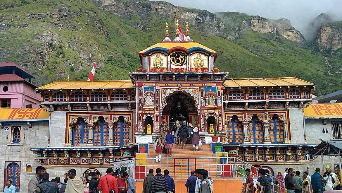 Badrinath Dham in the verdant hills of Kavresthali