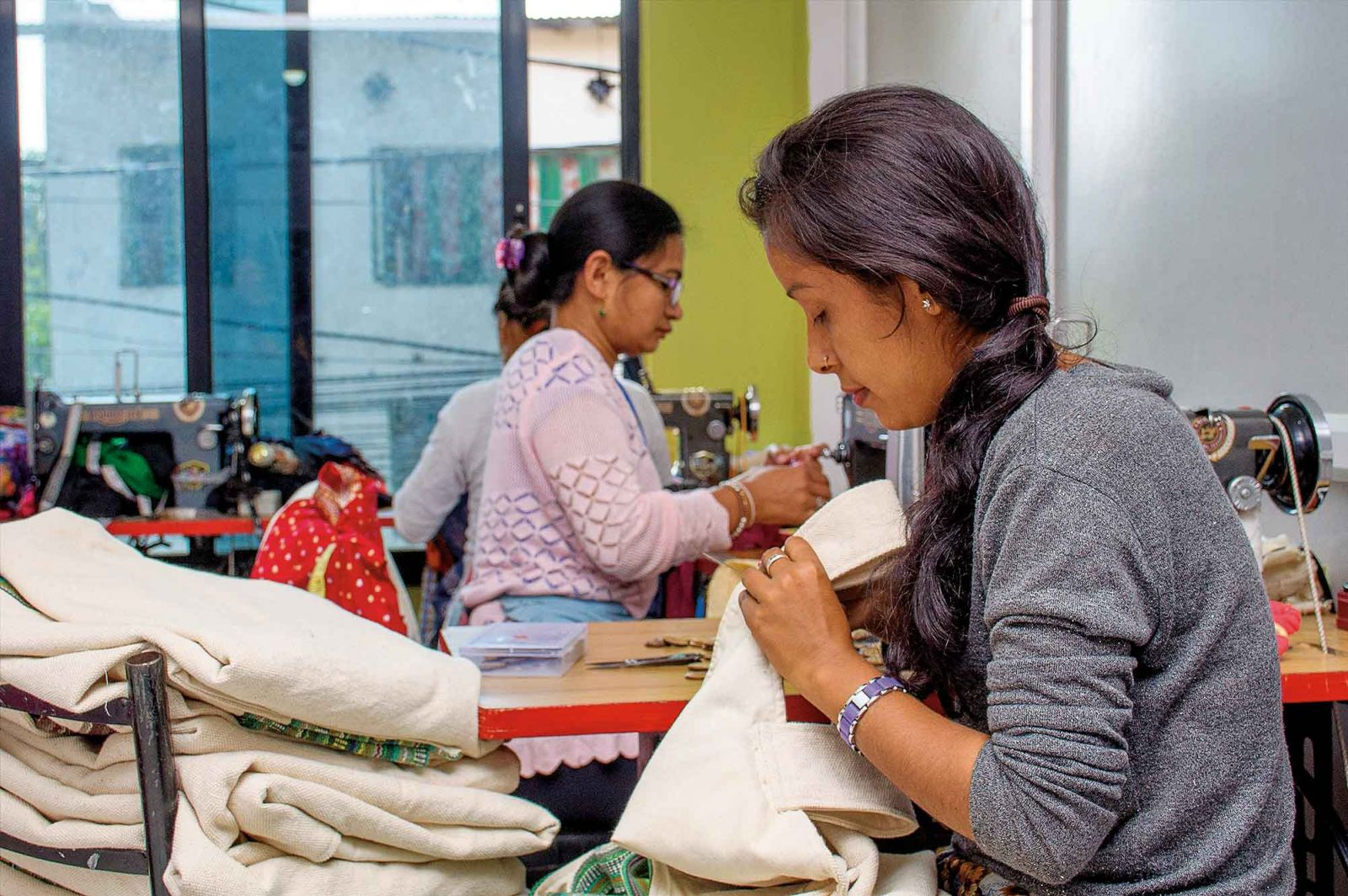 Danfe Nepal,Where Girls Find a New Life
