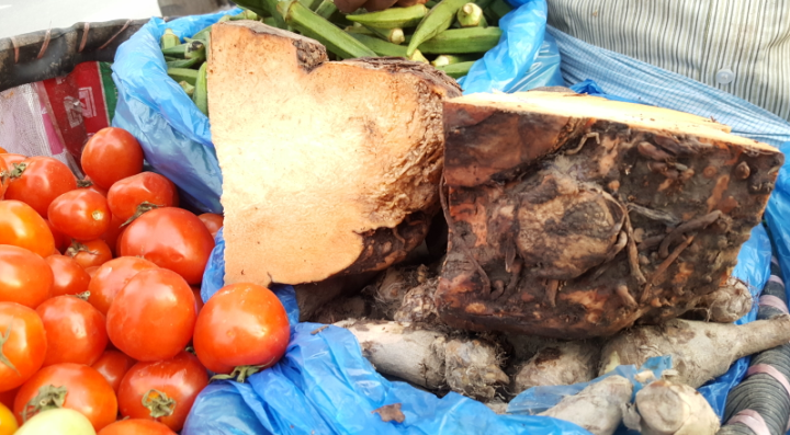 How To Cook Elephant Foot Yam A K A Oal Features Ecsnepal The Nepali Way