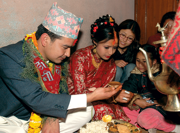 Nepali Marriages Features Ecsnepal The Nepali Way