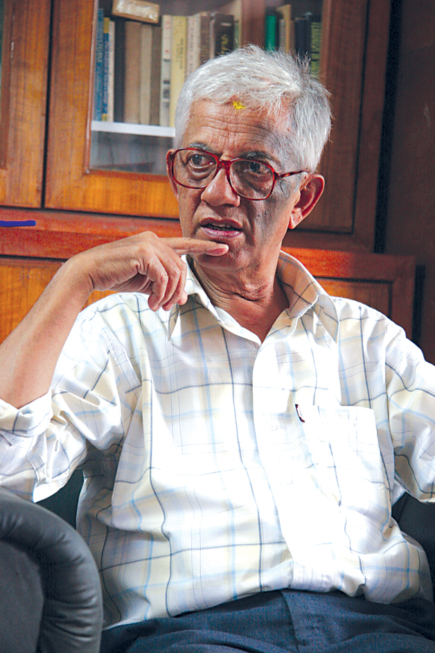 Prayag Raj Sharma: History's Spokesman | Culture | ECSNEPAL - The ...